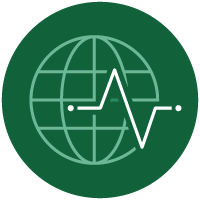 Global Health & Well-being Icon